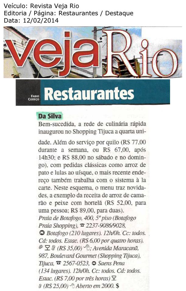 Da Silva inaugura a quarta unidade - Veja Rio