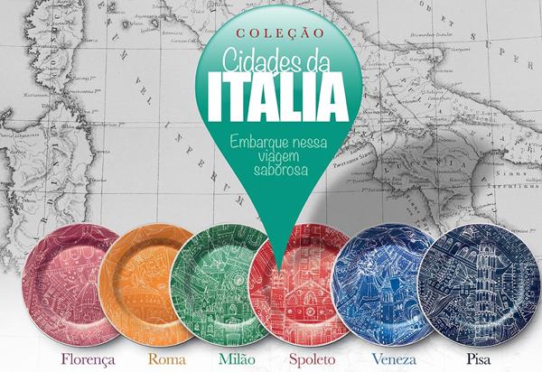 Spoleto Leva Seus Clientes à Itália em Nova Coleção de Pratos