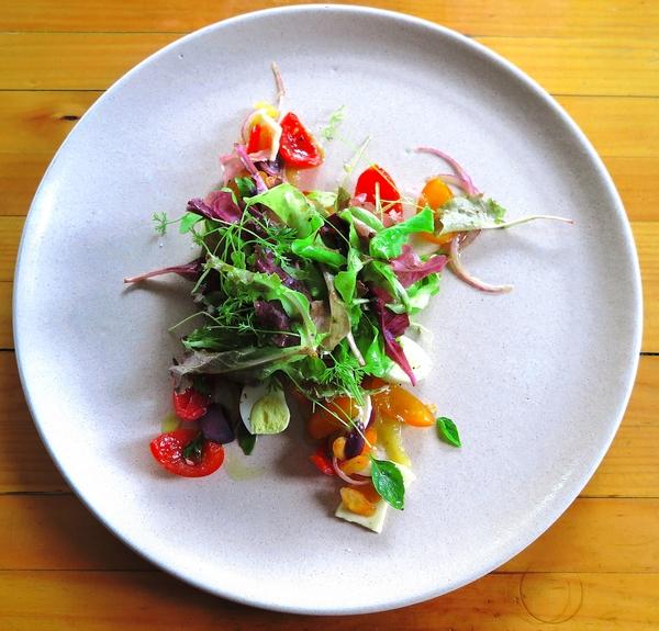Salada de verão no Bazzar