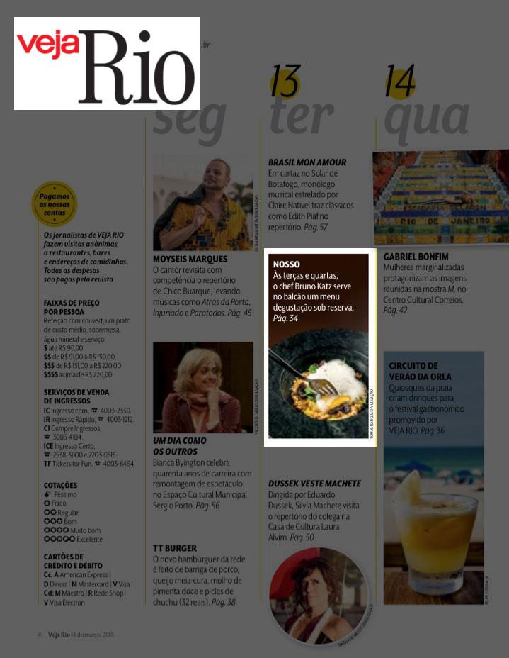 Pólen Comunicação revista veja rio
