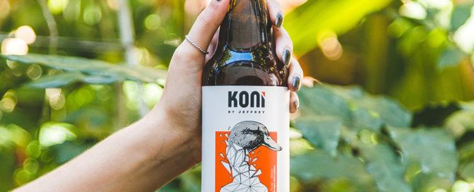 Koni e Jeffrey se unem e lançam cerveja exclusiva com estilo carioca
