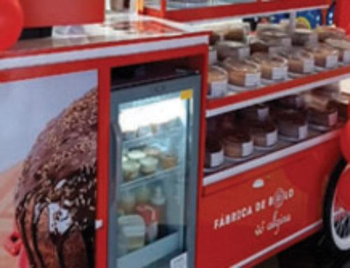 Fábrica de bolo Vó Alzira lança modelo quiosque